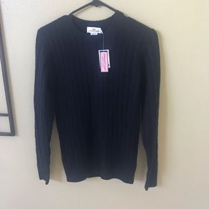 VINEYARD VINES men's XS cable knit sweater NWT